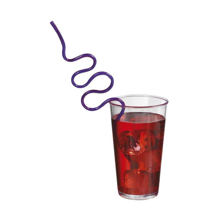 Amscan Hi Count Krazy Straw Favours Multicoloured