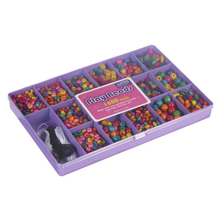 Play Beads Wood Kit