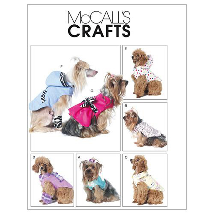 McCall's Pattern M6218 Pet Clothes