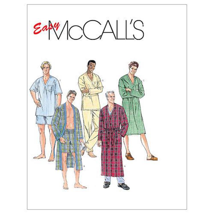 McCall's Pattern M6231 Men's Sleepwear