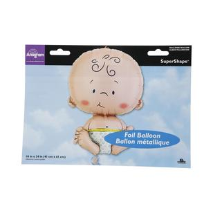 Amscan Foil Welcome Baby Super Shape Balloon