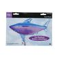 Amscan Foil Shark Super Shape Balloon Blue & Purple 104cm-x-58cn