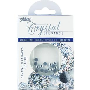 Swarovski Flat Back Hot Fix Beads 15 Pack