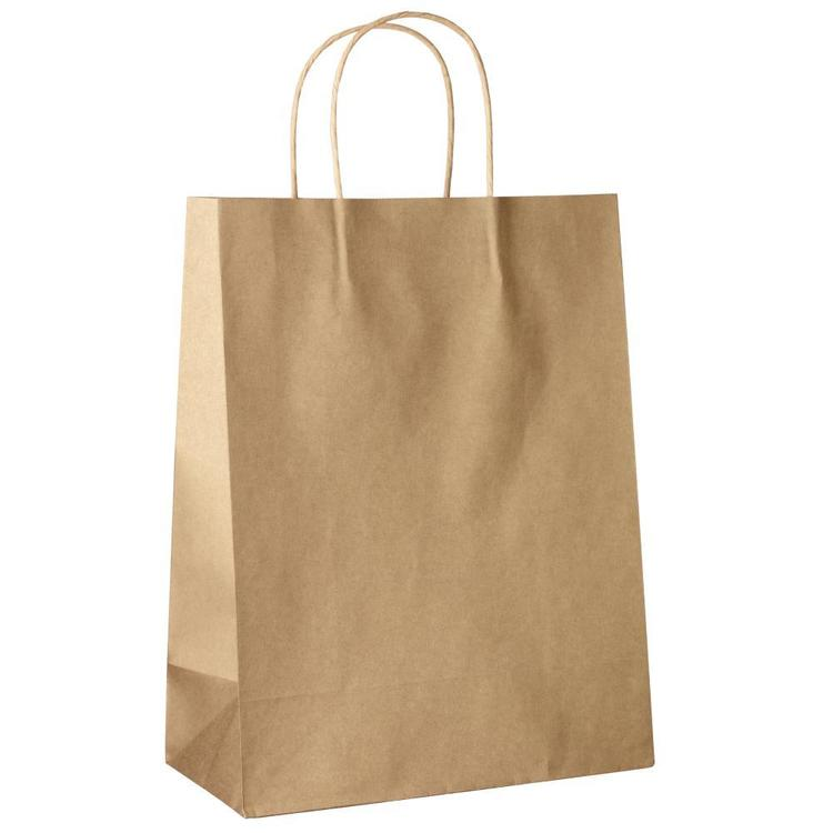 Medium Kraft Bags 5 Pack
