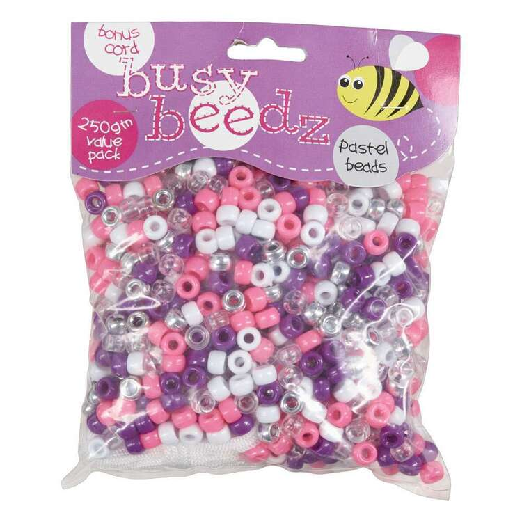 Busy Beedz Pastel Beads Value Pack