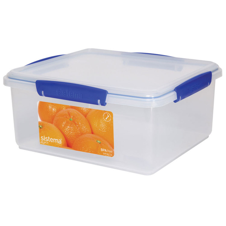 Sistema Klip It Container 5 L Clear