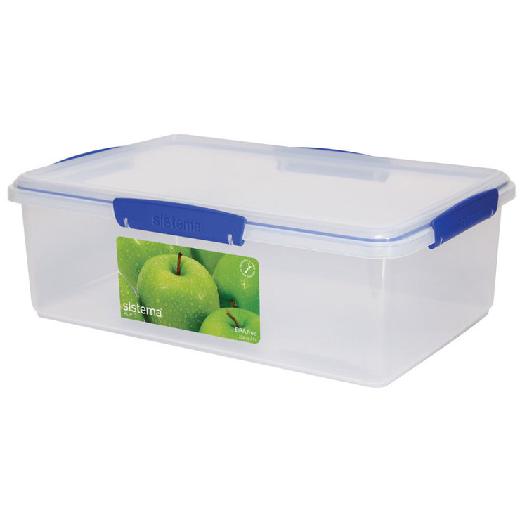 Sistema It Container 7 L Clear