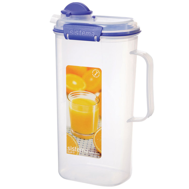 Sistema Klip It Juice Jug 2 L Clear