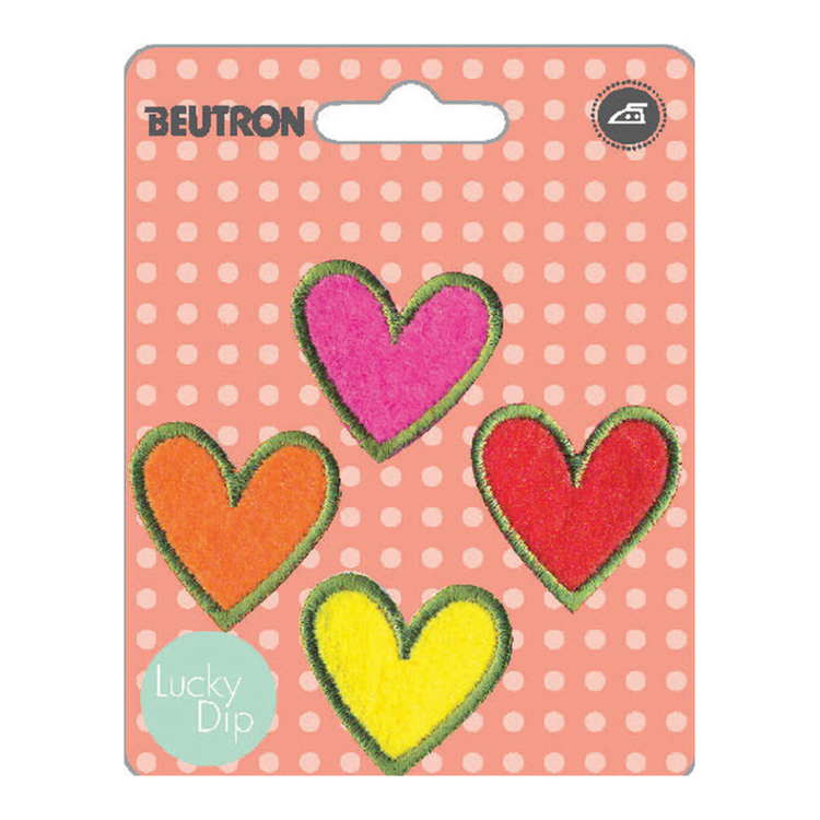 Beutron Multi Hearts Motif