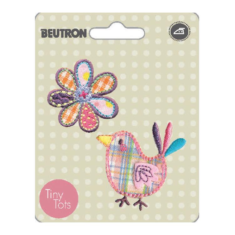 Beutron Bird And Daisy Motif