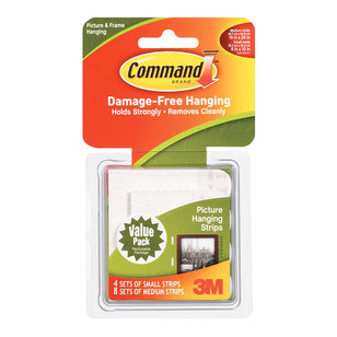 3M Command Picture Strips Combo