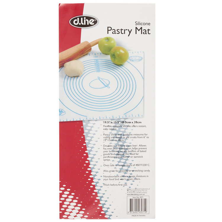 D.Line Silicon Pastry Mat White