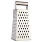 D.Line 4 Sided Deluxe Grater Silver