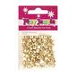 Ribtex Play Jewels Faceted Cube Beads Gold 8 mm