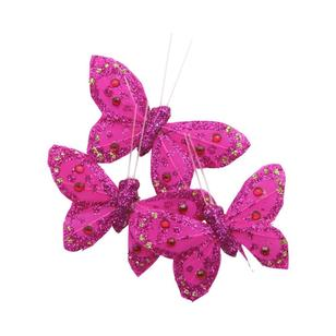 Critters Glitter Feather Butterfly