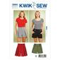Kwik Sew K3854 Shorts  X Small - X Large
