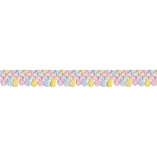 Simplicity Mini Puff Ball Multicoloured Trim