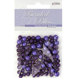 Ribtex Beaded Bliss Plastic Pearls
