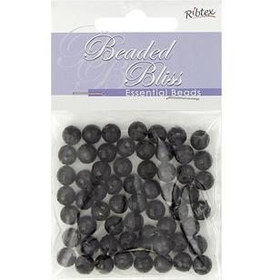 Ribtex Beaded Bliss Faceted Round Plastic Beads