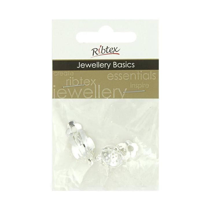 Ribtex Jewellery Basics Clip On Earrings With Holes