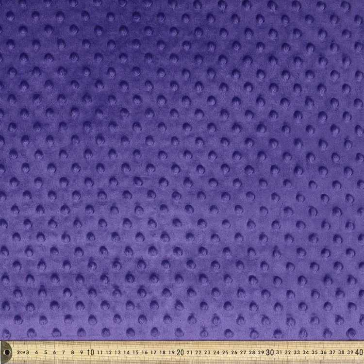 Minky Dot 150 cm Polyester Fabric