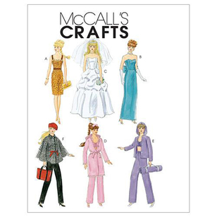 "McCall's Pattern M6258 Fashion Clothes For 18"" Doll"