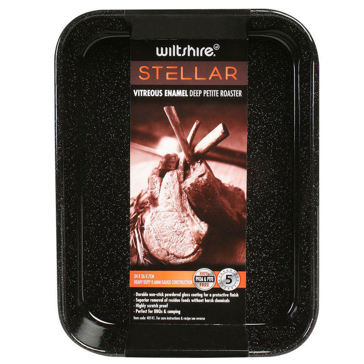Wiltshire Stellar Heavy Duty Petite Roaster Grey