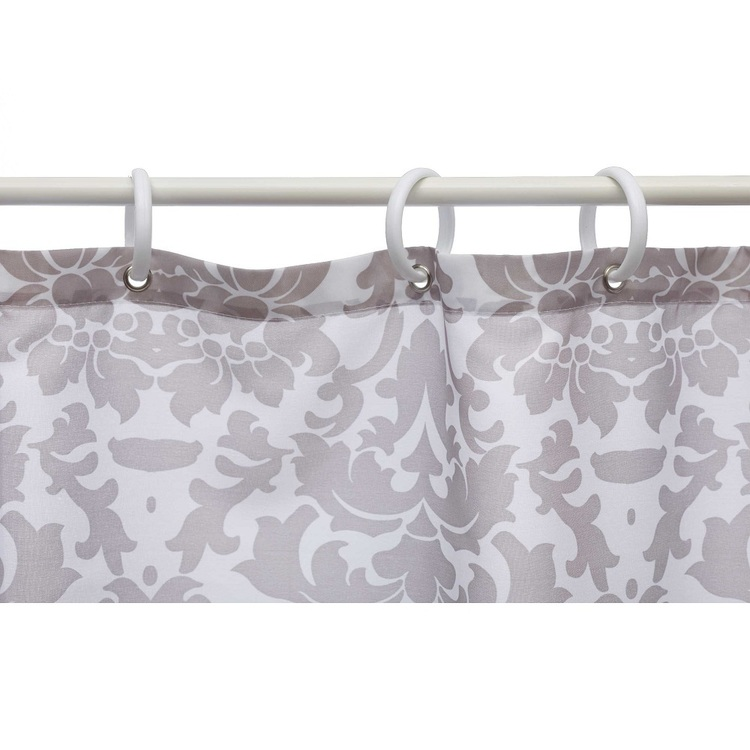 Bath By Ladelle 12 Shower Curtain Rings