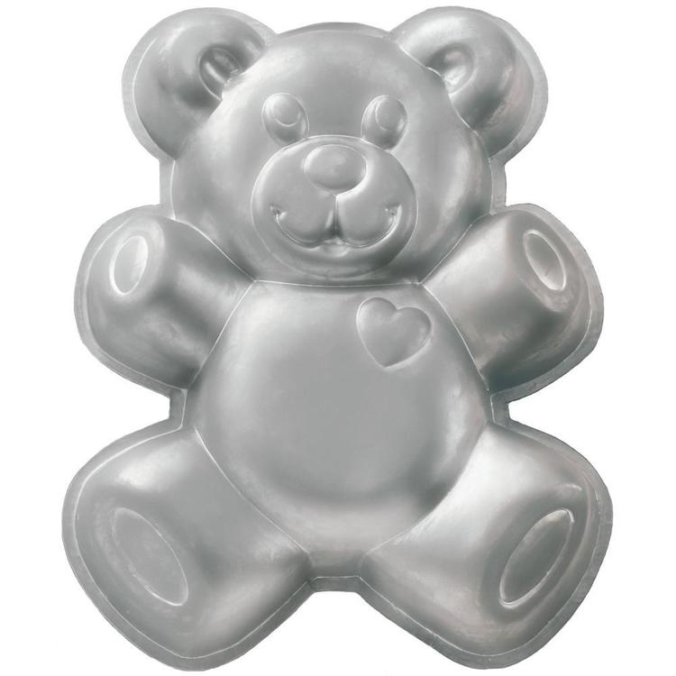 Wilton Teddy Bear Cake Pan Silver