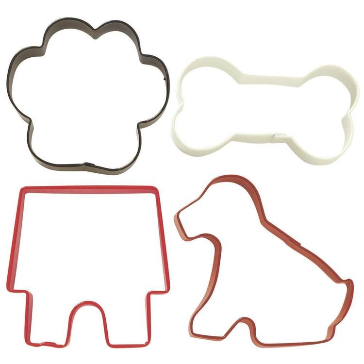 Wilton Pets Cookie Cutter Set Multicoloured