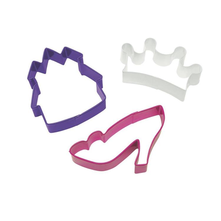 Wilton Princess Cookie Cutter Set Multicoloured