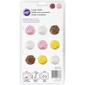 Wilton Roses Candy Moulds Brown