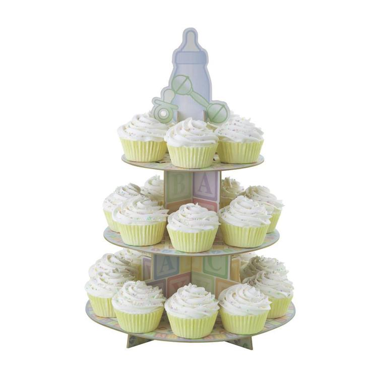 Wilton Baby Feet Cupcake Stand Multicoloured
