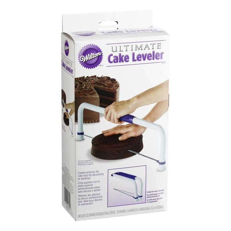 Wilton Large Folding Cake Leveller White