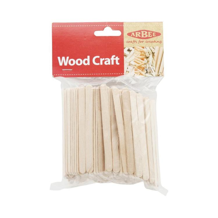 Arbee Mini Craft Sticks