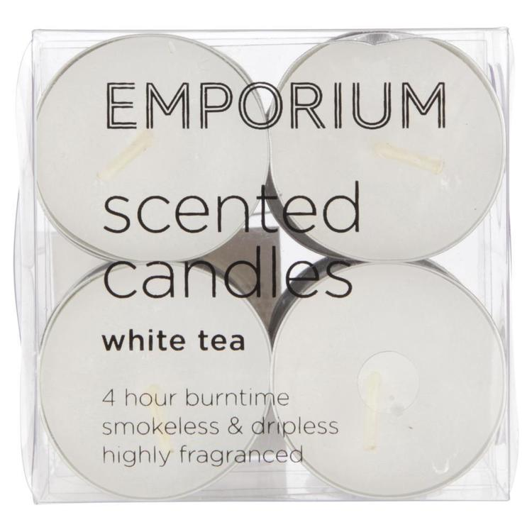 Emporium Scented Tealight Candles 12 Pack