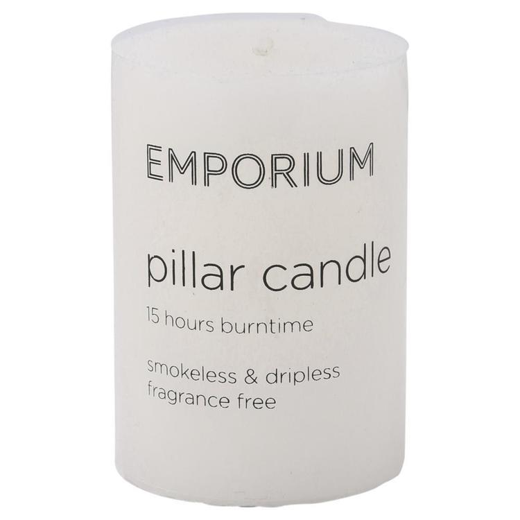 Emporium Pillar Candle 5 x 7.5cm