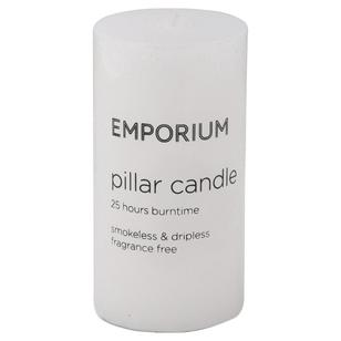 Emporium 25-Hour Burn Time Pillar Candle