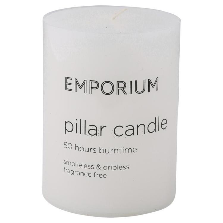 Emporium 50-Hour Burn Time Pillar Candle