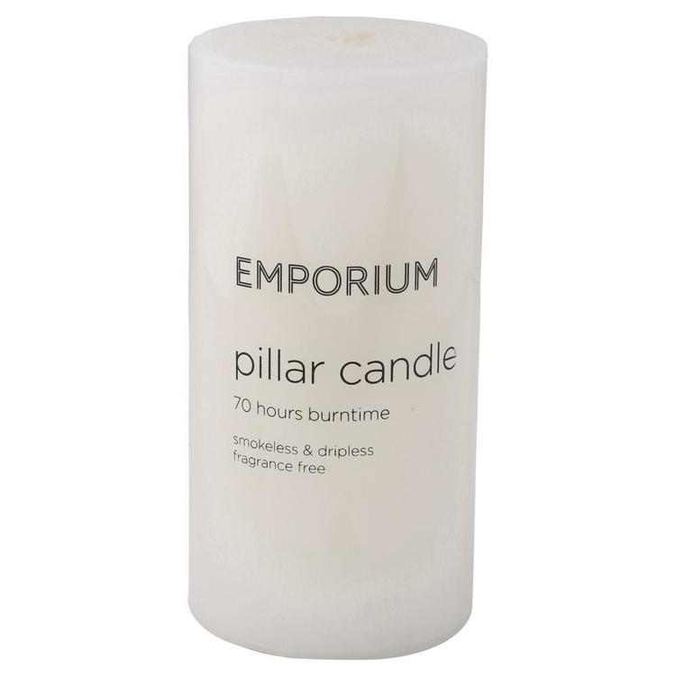 Emporium 70-Hour Burn Time Pillar Candle