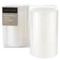 Emporium Pair LED Pillar Candles 10cm White 7.5 X 10 Cm
