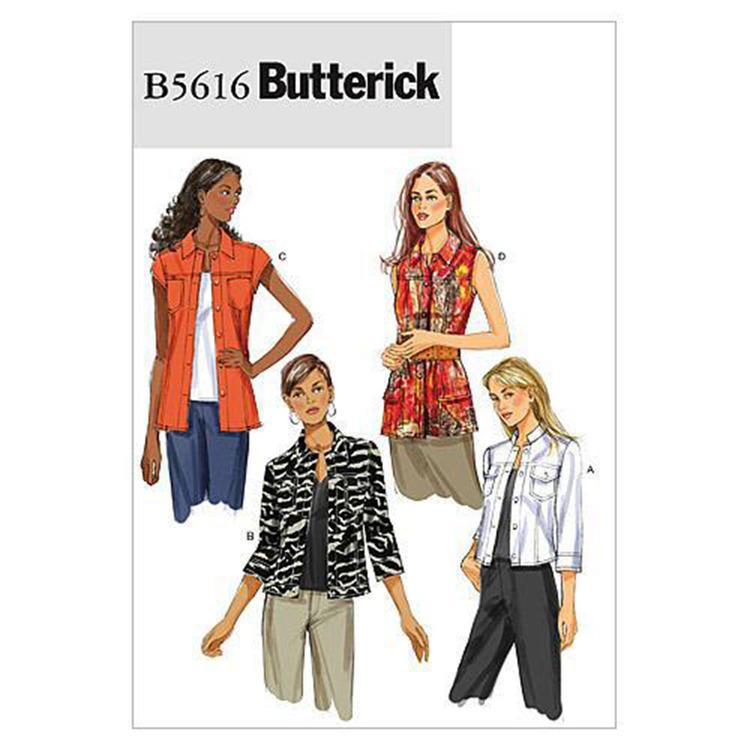 Butterick Pattern B5616 Misses' Jacket