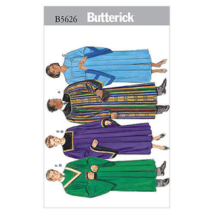 Butterick B5626 Unisex Robe & Collar