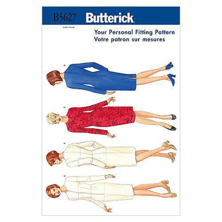 Butterick B5627 Misses' Fitting Shell