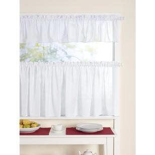 Lindy Voile Cafe Sheer