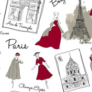 Paris Couture Uncoated Fabric