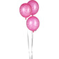 Amscan Girls Night Out Latex Balloons Pink
