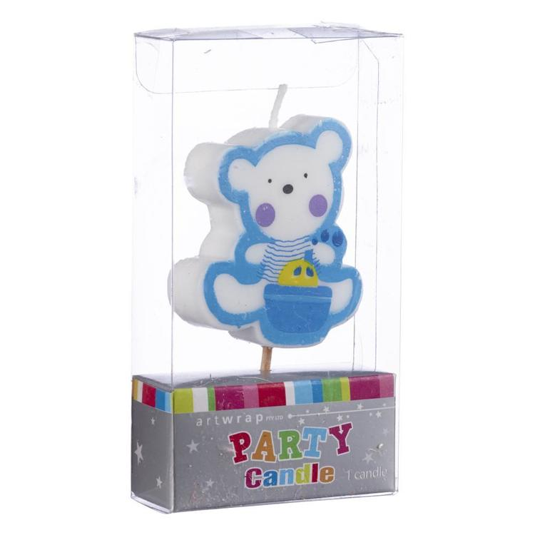 Artwrap Baby Bear Candle