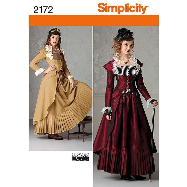 Simplicity Pattern 2172 Steampunk Costume