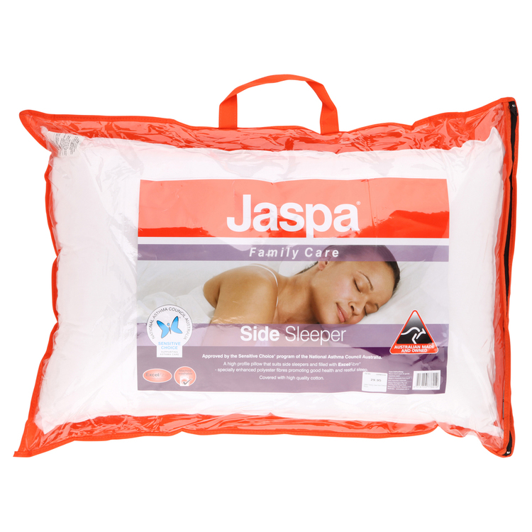 Jaspa Family Care Side Sleeper Pillow